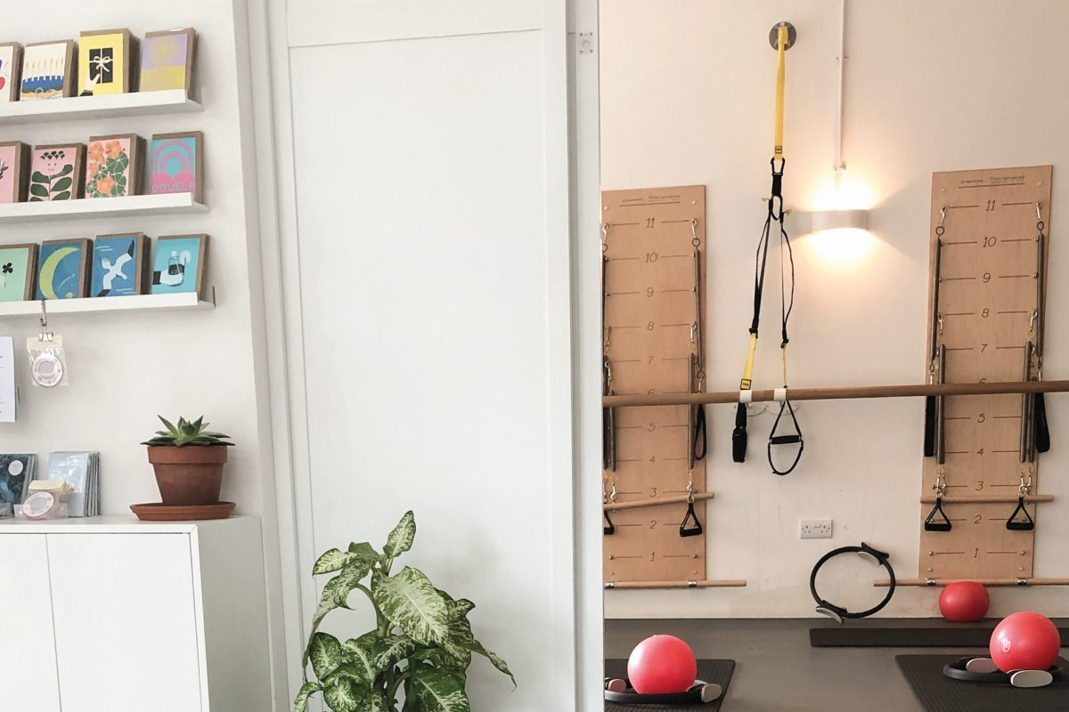 Pilates classroom in London.